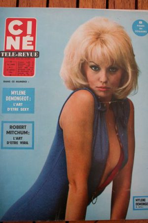 Magazine 66 Mylene Demongeot Samantha Eggar Capucine Michael Caine Shelby Grant
