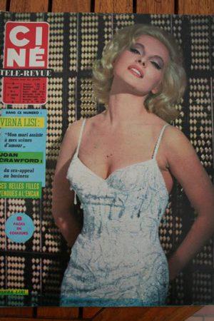 Magazine 1966 Virna Lisi Romy Schneider Capucine Anita Ekberg Joan Crawford