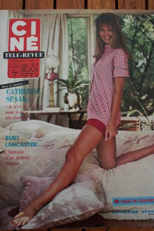 Magazine 1966 Sophia Loren Judith Burt Lancaster Steve McQueen Michele Mercier