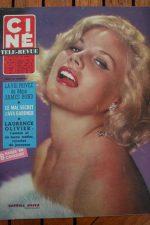 Magazine 1966 Carroll Baker Laurence Olivier Rossana Podesta Ava Gardner