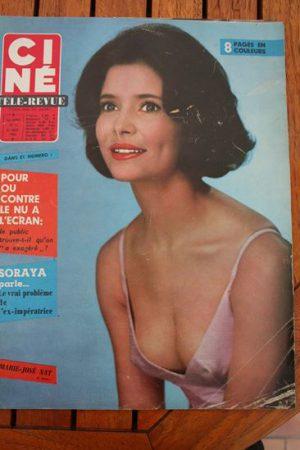 Magazine 1966 Marie Jose Nat Sean Connery Bing Crosby Sandra Dee Steve McQueen