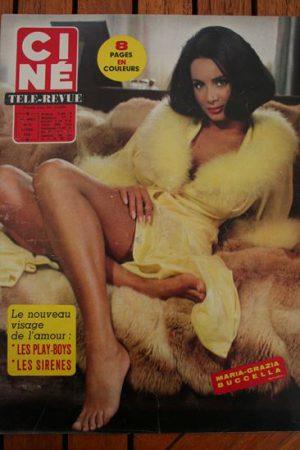 Magazine 1966 Anna Karina Jeff Chandler Christa Lang James Stewart Hardy Kruger