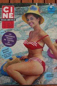 Magazine Cannes Festival Natalie Wood Margaret Nolan Elvis Presley Marilu Tolo