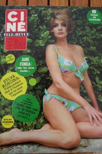 Magazine 1966 Sylva Koscina Jane Fonda Alan Ladd Britt Ekland Julie Andrews