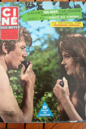 Magazine 1966 Dalida Michael Parks Ulla Bergryd The Bible Annie Girardot