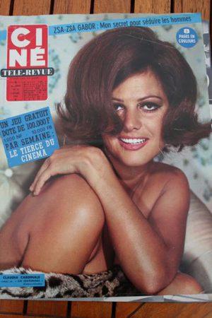 Magazine 1966 Claudia Cardinale Alain Delon Clint Eastwood Olivia De Havilland