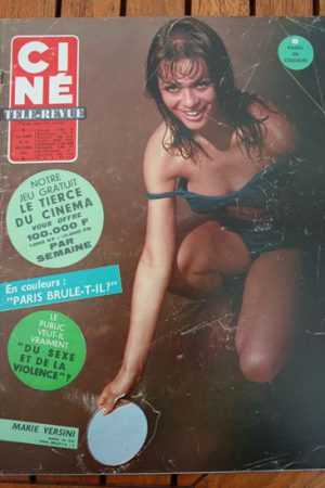 Magazine 66 Raquel Welch Hedy Lamarr Leslie Caron Michael Caine Esther Williams