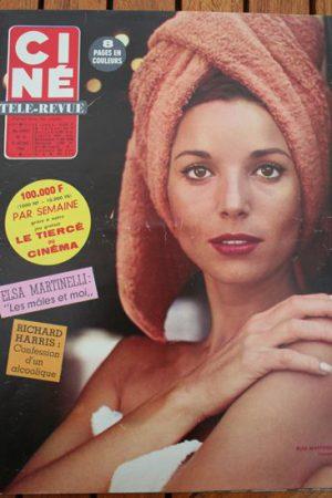 Magazine 1966 Richard Harris Richard Widmark Jayne Mansfield Eva Marie Saint