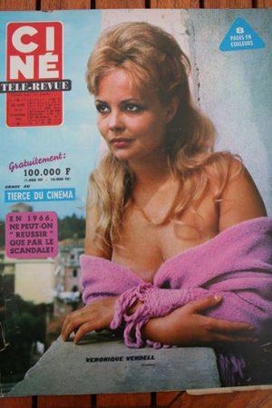 Magazine 66 Lita Grey Gisela Hahn Claudia Cardinale Burt Lancaster Jack Hawkins