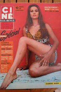 Magazine 1966 Claudine Auger Julie Andrews Romy Schneider Susan Hayward