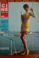 Magazine 1966 Beverly Adams Angie Dickinson Peter O'Toole Robert Stack