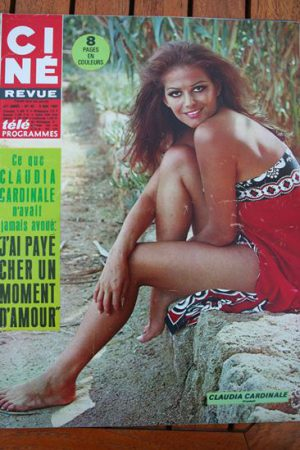 Magazine 1967 Claudia Cardinale Maurizio Arena Julien Duvivier Laura Devon