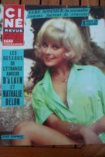 Magazine 1967 Elke Sommer Charlton Heston Alain Delon Frank Sinatra Petula Clark