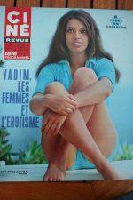 Magazine 1967 Audrey Hepburn Roger Vadim Hayley Mills Leticia Roman James Darren