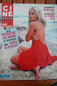 Magazine 1967 Virna Lisi Marianne Faithfull Alain Delon Planet of the Apes