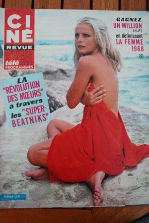 Magazine 1967 Virna Lisi Marianne Faithfull Alain Delon Planet of the Apes