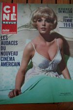 Magazine 1967 Sharon Tate Stella Stevens Audrey Hepburn Pamela Tiffin Harry Baur