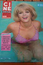Magazine 1967 Leticia Roman Ann-Margret Nelson Eddy Steve McQueen Camilla Sparv