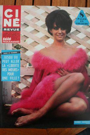 Magazine Claudia Cardinale Moulin Rouge Jennifer Jones Anita Hofer Raquel Welch
