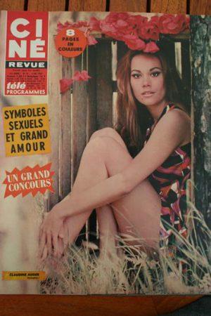 Magazine 67 Claudine Auger Gail Russell Jean Seberg James Mason Vanessa Redgrave