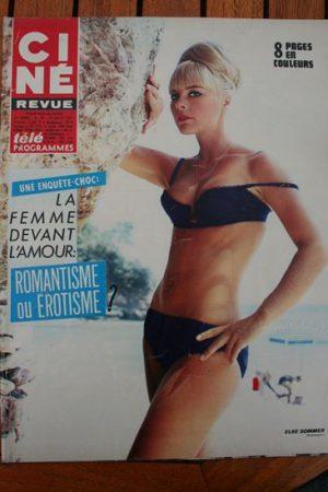 Magazine 1967 Elke Sommer Vivien Leigh Suzy Kendall Mireille Darc Tina Aumont