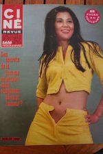 Magazine 1967 Catherine Deneuve Paul Muni Irene Tsu Roy Rogers Mylene Demongeot