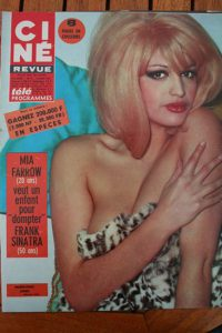 Magazine 1967 Frederick Stafford Robert Vaughn David McCallum Mylene Demongeot