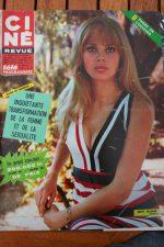 Magazine Britt Ekland Mie Hama James Garner Doris Day Glenn Ford Stella Stevens