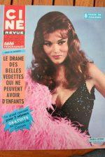 Magazine 1967 Maria Latour Audrey Hepburn Raquel Welch Marilu Tolo Rock Hudson