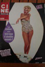Magazine Jane Fonda Gert Frobe Martine Carol Van Heflin Yul Brynner Sandra Milo
