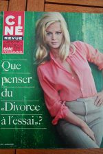 Magazine 1968 Alain Delon Frank Sinatra Lee Remick Britt Ekland Peter Sellers