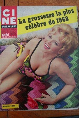 Magazine 1968 Sophia Loren Martine Malle Anouk Aimee Yves Montand Jacques Brel