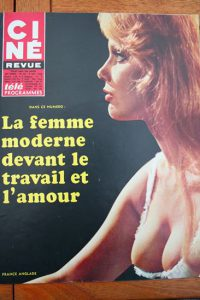 Magazine 1968 France Anglade Christiane Rucker Karl Malden Troy Donahue