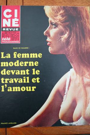 Magazine 1968 France Anglade Christiane Rucker Karl Malden Troy Donahue