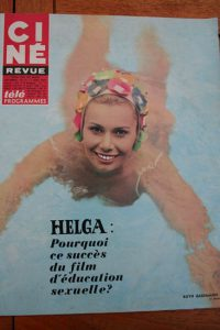 Magazine 1968 Raoul Levy Frank Sinatra Lee Remick Hayley Mills Julie Andrews