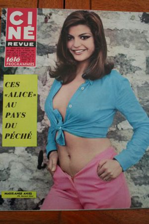 Magazine 1968 Candice Bergen Gerard Barray Bernhard De Vries Veronique Vendell