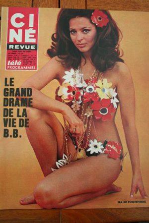 Magazine 68 Cannes Festival 1968 Claudia Cardinale Stefania Sandrelli Bob Crane