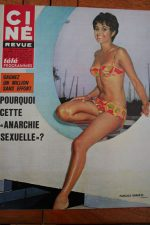 Magazine 1968 Mireille Darc Cannes Festival 1968 Peter O'Toole Catherine Spaak
