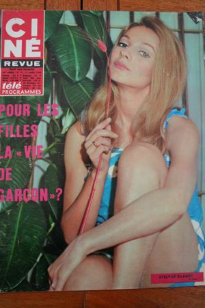 Magazine 1968 Evelyne Dandry Silvana Mangano Humphrey Bogart Kim Novak