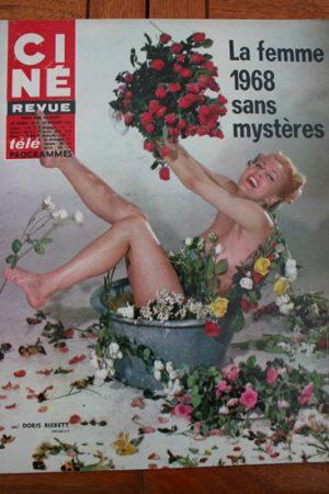 Magazine 1968 Sidney Poitier Judy Huxtable David McCallum Catherine Rouvel