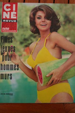 Magazine 1968 Edy Williams Jean Gabin Joan Delaney Claudine Auger Liz Taylor