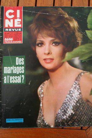 Magazine 1968 Gina Lollobrigida Michele Mercier Jeffrey Hunter Deborah Kerr