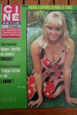 Magazine 1970 Diane Cilento Roger Moore Jo Ann Pflug Silvia Monti Mia Farrow