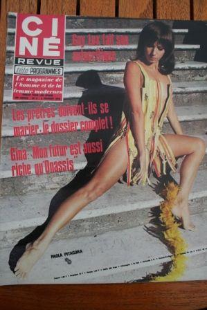Magazine 1970 Paola Pitagora Marlene Jobert Gina Lollobrigida Anjanette Comer