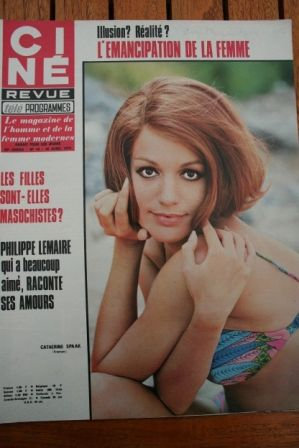 Magazine 1970 Catherine Spaak Ingrid Bergman Kiki Caron Sean Flynn Edwige Fenech