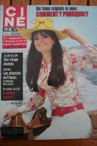 Magazine 1970 Grit Freyberg Alain Delon Marisa Mell Marilu Tolo Ewa Swann