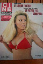 Magazine 1970 Katia Christine Anthony Perkins Leif Erickson Claude Jade