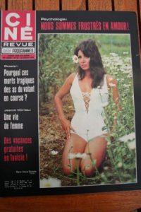 Magazine 1970 Maria Grazia Buccella Pierre Massimi Anne Heywood Jeanne Moreau