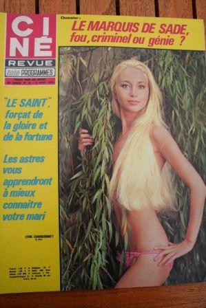 Magazine 1970 Lyne Chardonnet Goldie Hawn Lee Marvin Roger Moore John Hansen