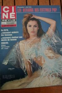 Magazine 1970 Simone Bach Johnny Hallyday Mia Farrow Francy Fair Darry Cowl